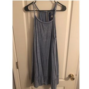 Denim colored dress from Francesca's